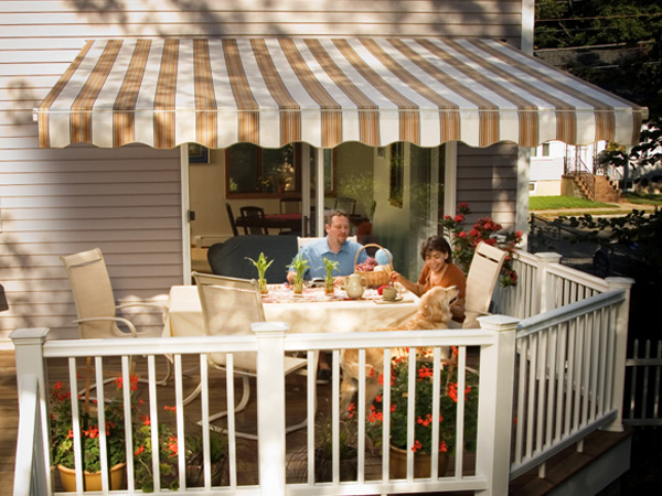 Sunsetter Retractable Awaning - Vista Awning | Windows by ...